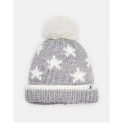 Hat - Joules - Baby - VEGA OVERSIZED POM HAT - cream star - , 6-12m