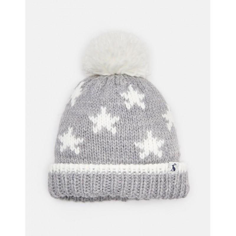 Hat - Joules - Baby - VEGA OVERSIZED POM HAT - cream star - 0-6 53cfa0a6e21