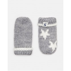 Gloves and Mittens - Joules - Baby VEGA MITTENS - cream star in 6-12m a,d 12-24m