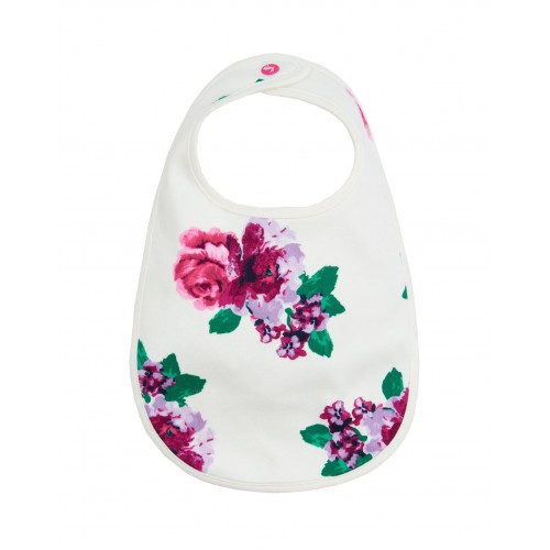 Bib - Joules - OOPS Cream Floral
