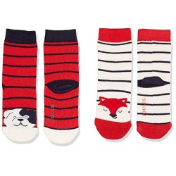 Socks - Joules - Baby Neat Feet Bamboo - Fox - 1-2, 2-3y