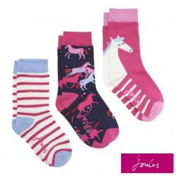Socks - Joules - NEW - Girls Horse -  9-12, 13-3 shoes size