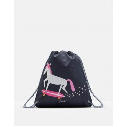 Bag - Joules Girls Drawstring bag - Horse