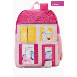 Backpack - Joules - Unicorn House Zippy Backpack - sale