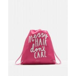 Bag - Joules Girls Drawstring bag - Messy hair
