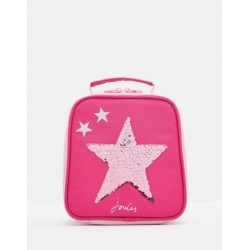 Bag - JOULES MUNCH LUNCH BAG - PINK SEQUIN STAR