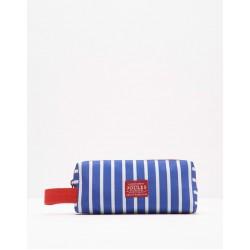 Pencil Case - Bag - Joules - Blue Stripe  - sale