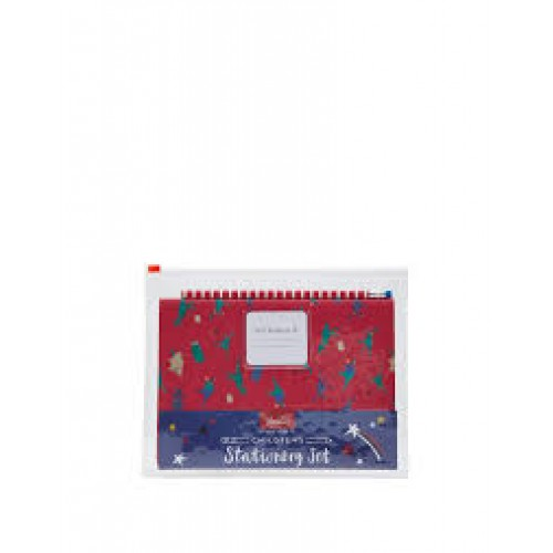 Gift - Joules  - DINO - KIDS STATIONERY SET IN A ZIP WALLET