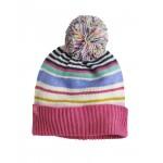 Hat - Joules  Girls - Elsa -  pom pom - S/M  (3-7y ) in SALE