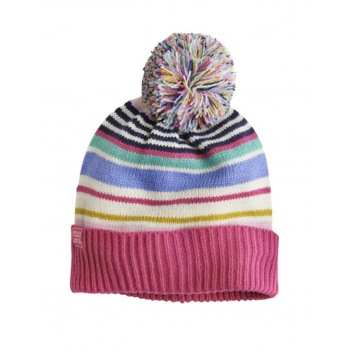 Hat - Joules  Girls Elsa -  pom pom - s/m  in SALE