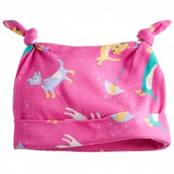 Hat - Joules Baby - Raining cats and dog print - SALE  3-6, 9-12m