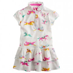 Dress - Joules Girls Lawn horse - 7, 8y  in SALE