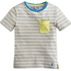Top - Joules Boys - Olly with pocket - 3, 4, 5, 6, 7, 8y -   SALE