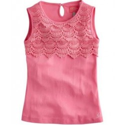 Top - Joules Girls - Vest Cicery - pink SALE ,6y last one