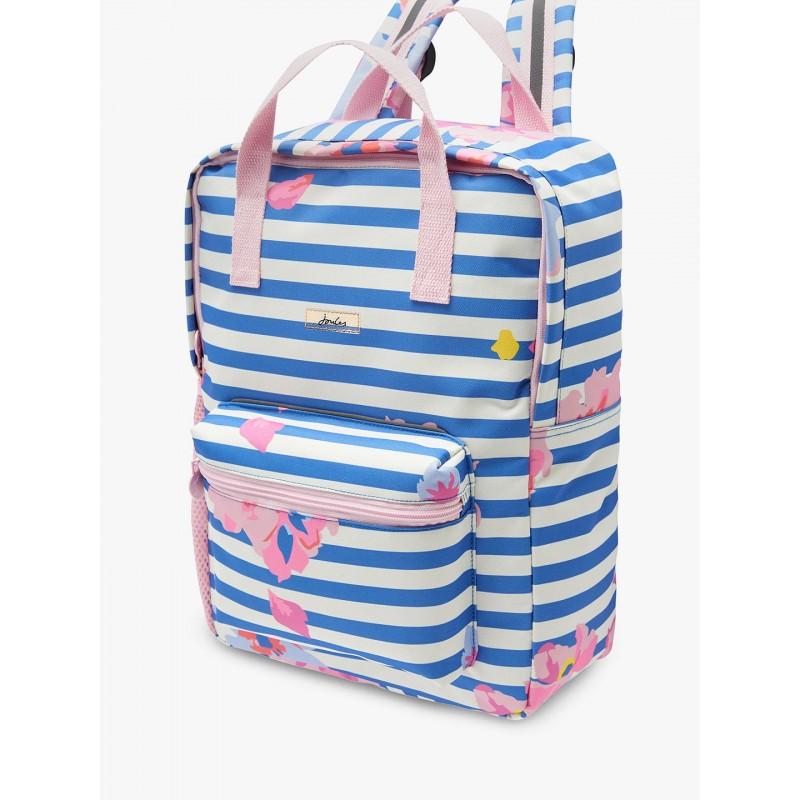 ce7628d54226 Bag - Joules Children's Floral Print Easton Square Backpack - MID ...