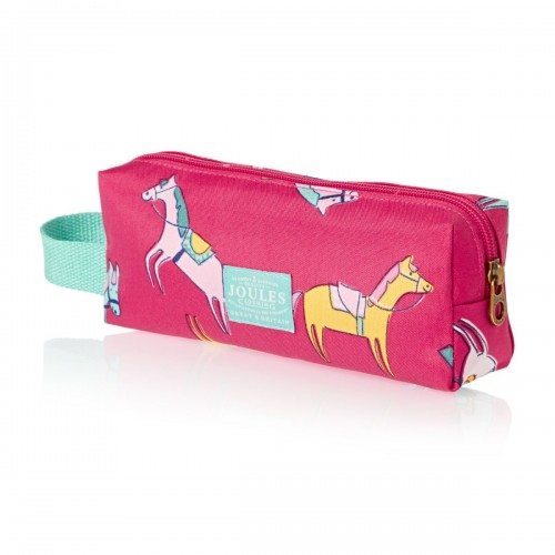 Bag - Pencil case - Joules Jnr One size  - Pencil Case in Pink Horse Print