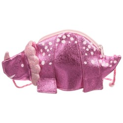 Bag -  Joules - Krista Handbag - Pink  Shiny Dinosaur - last one -  sale