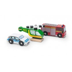 LTV - Wooden Emergency Vehicle Set