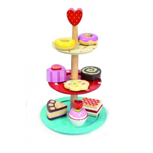 LTV - Cake Stand with 3 Tiers