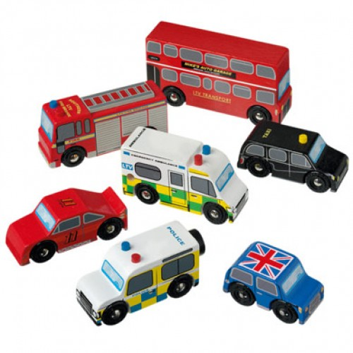 Toy - London Toy Vehicle Set