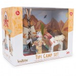 LTV - Tipi Camp Set with Indian