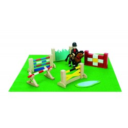 LTV -  Horse Jumping Set