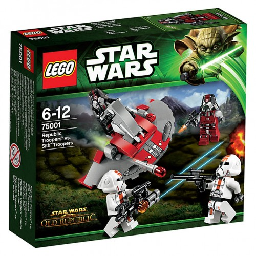 Lego - Star Wars - Republic Troopers vs Sith 75001