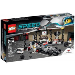Lego - Speed - McLaren Mercedes Pit Stop 75911- sale
