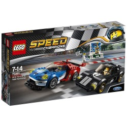 Lego - Speed - Champions 75881 2016 Ford GT & 1966 Ford GT40