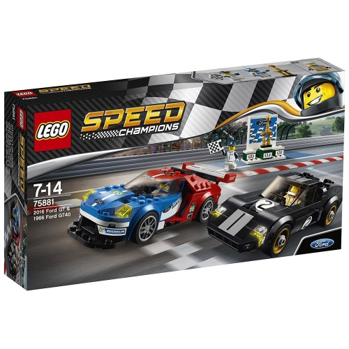 Lego - SPEED - Champions 75881 2016 Ford GT & 1966 Ford GT40  -sale
