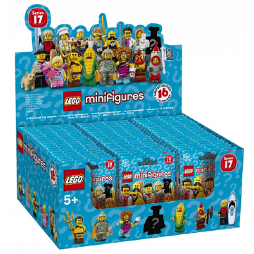 Minifigures - LEGO - Series 17 (60 x = 1 box )