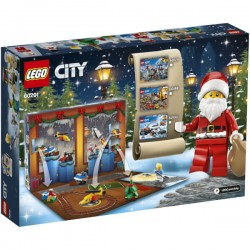 Lego - Advent Calendar - CITY 60201 - 2018 y -  2 left in  sale