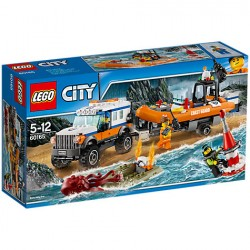 Lego - City - 60165 -  4 x 4 Response Unit