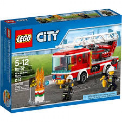 Lego - City - 60107 - FIRE LADDER TRUCK