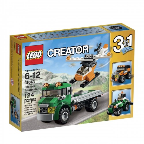 Lego - CREATIR -  Chopper Transporter31043 - sale