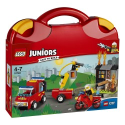 Lego - Juniors Fire Patrol Suitcase - 10740