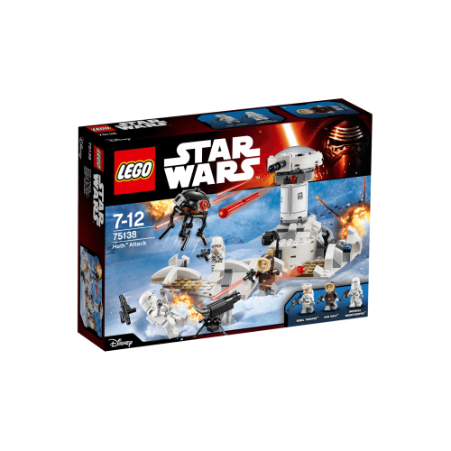 LEGO -  STAR WARS -  Hoth Attack 75138 - sale