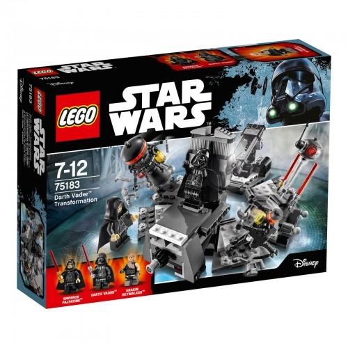 Lego - Star Wars - 75183 Darth Vader Transformation Set