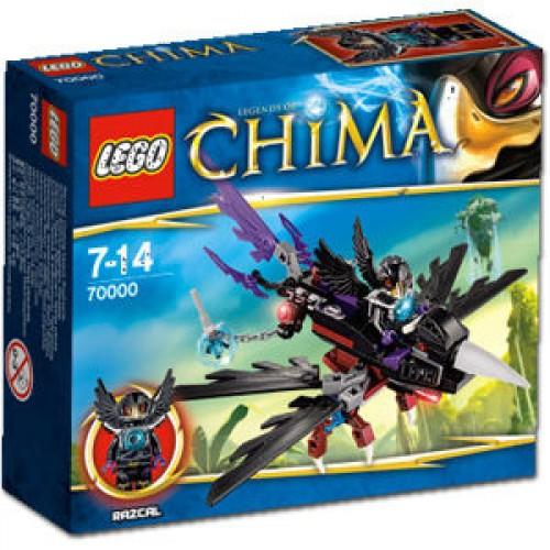 LEGO - CHIMA - Legends of Chima 70000: Razcal's Glider 70000 - SALE