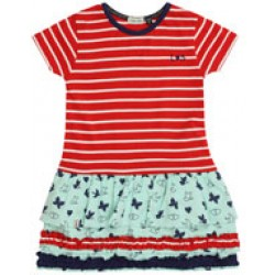 Lilly&Sid - Dress - Ra Ra hem dress in SALE 3-4y