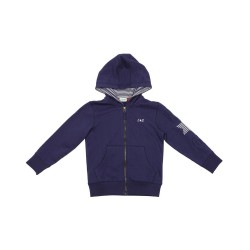 Lilly&Sid - Jacket - Navy Hoody in SALE -6-7 y (size up is recommended)
