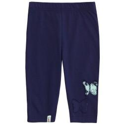 Leggings -  L/S Navy Flutter crop leggings n SALE 2-3,