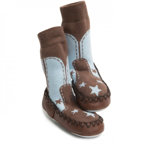 Moccasins - Cow boy 6-12, 18-24m