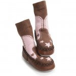 Moccasins - COW GIRL 6-12, 12-18, 2-3y