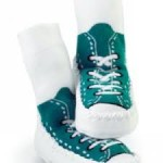 Moccasins - Turquoise sneaker 6-12
