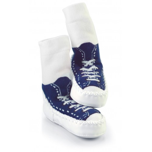 Moccasins - Blue sneaker 6-12m