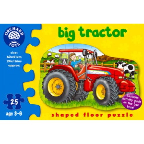 Toy - Orchard Toys - Big Tractor - Puzzle