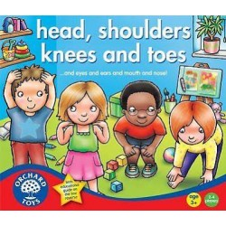 Toy - Orchard Toys -  Heads, Shoulders, Knees and Toes - game