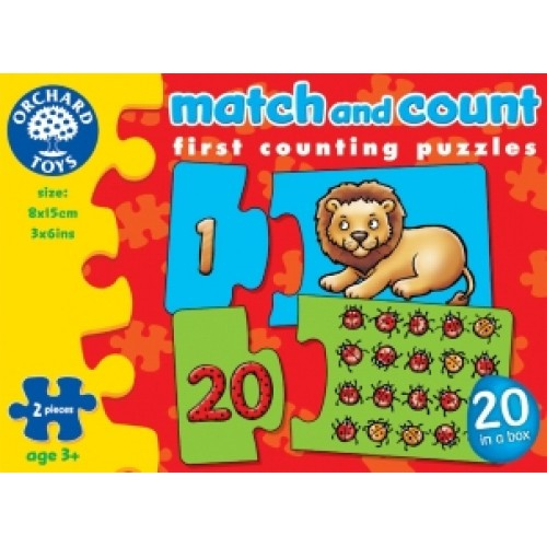 Toy - Orchard Toys - Match and Count - puzzle