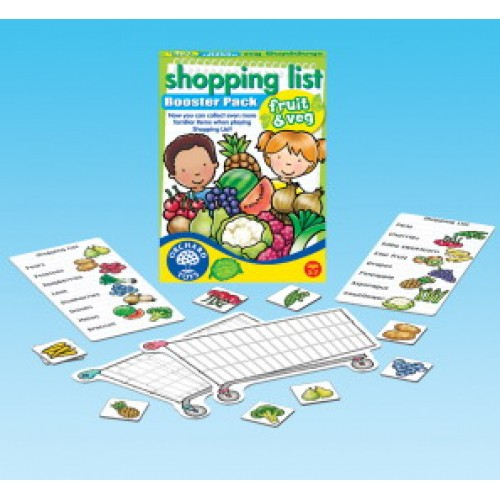 Toy - Shopping List Booster Pack -  Fruit and Veg Booster Pack